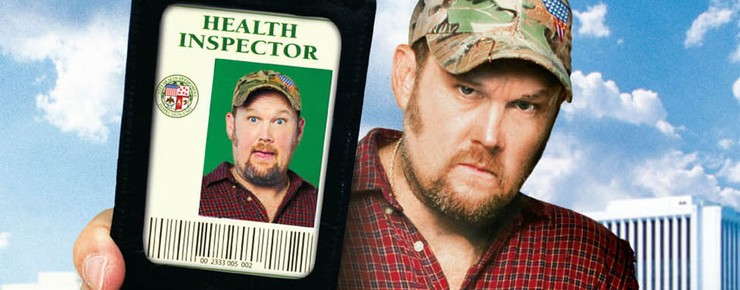 TV Show Poster ~ Larry the Cable Guy