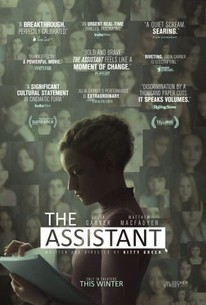 The Assistant 2020 Rotten Tomatoes