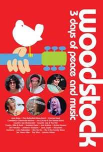 Woodstock: 3 Days of Peace & Music