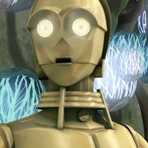 C-3PO is voiced by Anthony Daniels
