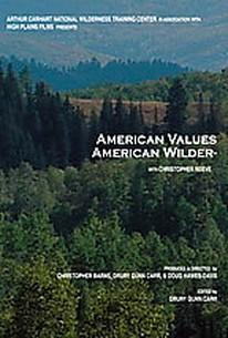 American Values, American Wilderness