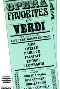 Opera Favorites by Verdi