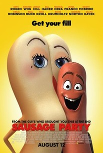 sausage party 2016 rotten tomatoes