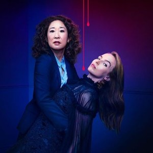 Sandra Oh (left) and Jodie Comer