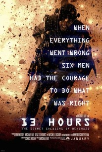 13 Hours The Secret Soldiers Of Benghazi 2016 Rotten Tomatoes