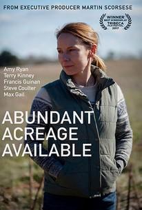 Abundant Acreage Available
