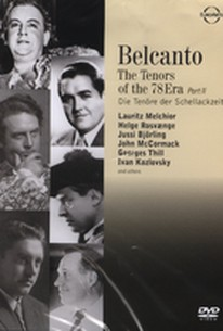 Belcanto: The Tenors of the 78 Era - Part 2