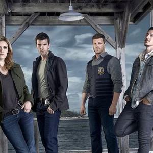Emily Rose, Lucas Bryant, Adam Copeland and Eric Balfour (from left)