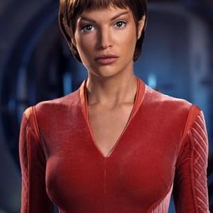 """Jolene Blalock as Subcommander T""""Pol"""