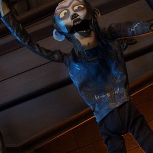 Frankenstein's Monster is voiced by Scott Adsit