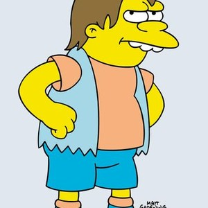 Nelson Muntz is voiced by Nancy Cartwright