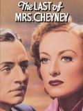 The Last of Mrs. Cheyney