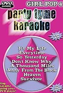 Party Tyme Karaoke - Girl Pop 4