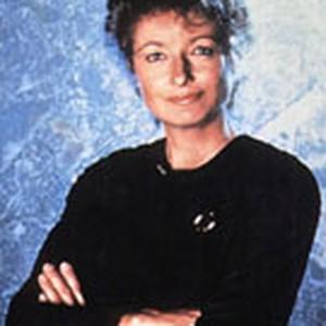 """Diana Muldaur as Dr. Katherine """"Kate"""" Pulaski"""