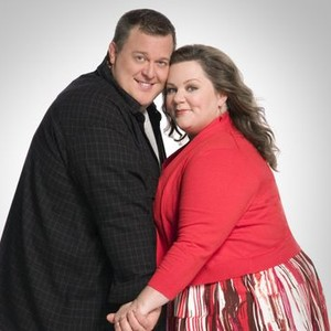 Billy Gardell and Melissa McCarthy