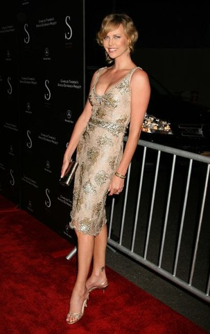 Social Hollywood Opening to Benefit the Charlize Africa Outreach Program - Arrivals