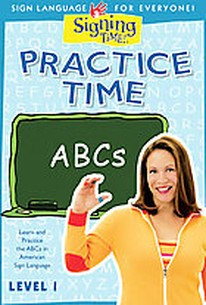 Signing Time! - Practice Time: ABCs