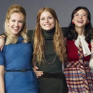 Anna Camp, Genevieve Angelson, and Erin Darke (from left)