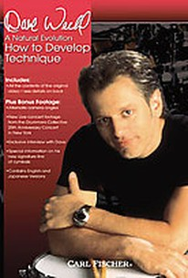 Dave Weckl - How to Develop Technique