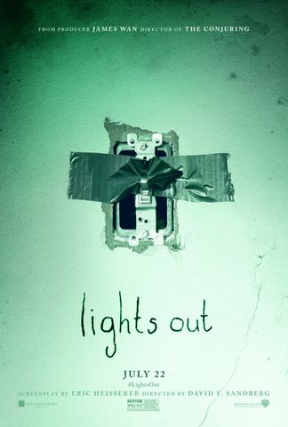Poster for Lights Out (2016)