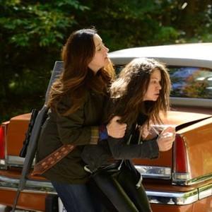 Orphan Black: Season 2, Episode 2, Sarah (Tatiana Maslany) and Mrs. S (Maria Doyle Kennedy)