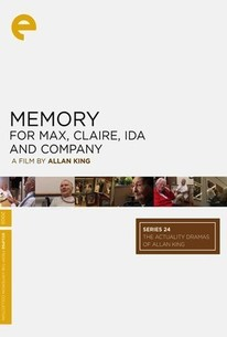 Memory for Max, Claire, Ida and Company