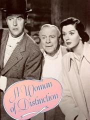 A Woman of Distinction