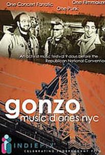 Gonzo Music Diaries, NYC