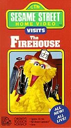 Sesame Street - Visits the Firehouse