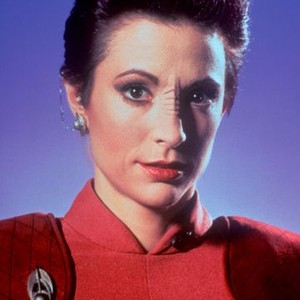 Nana Visitor as Major Kira Nerys