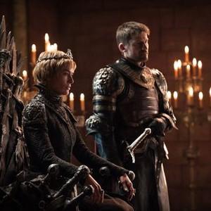 Lena Headey as Cersei Lannister and Nikolaj Coster-Waldau as Jaime Lannister (Helen Sloan/HBO)