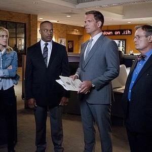 NCIS, Season 12: Emily Wickersham, Rocky Carroll, Michael Weatherly and David McCallum