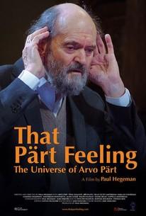 That Pärt Feeling: The Universe of Arvo Pärt