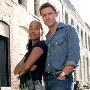Sonja Sohn and Dominic West