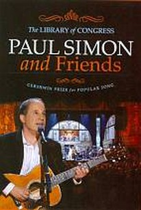 Paul Simon and Friends - The Library of Congress Gereshwin Prize For Popular Song