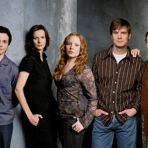 Freddy Rodriguez, Rachel Griffiths, Lauren Ambrose, Peter Krause and Frances Conroy (from left)