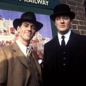 Hugh Laurie (left) and Stephen Fry