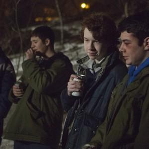 Pictured: (center) Devin Druid as Louie. CR: KC Bailey/FX