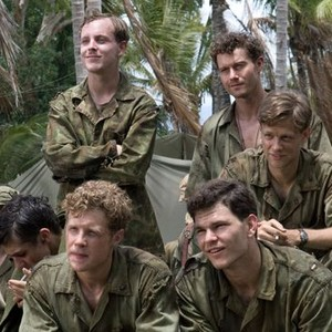 Tom Budge, James Badge Dale, Jacob Pitts, Joshua Helman and Ashton Holmes (clockwise from top left)