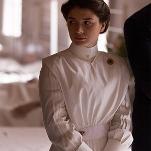 Eve Hewson as Lucy Elkins.