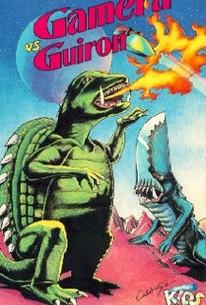 Gamera tai daiakuju Giron (Attack of the Monsters)(Gamera vs. Guiron)