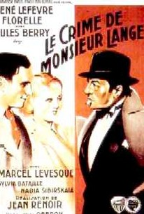 Le Crime de Monsieur Lange (The Crime of Monsieur Lange)