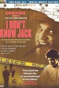 I Don't Know Jack