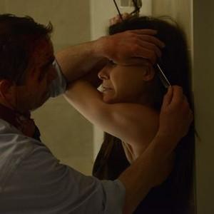Orphan Black: Season 2, Episode 4, Daniel (Matthew Bennett) and Sarah (Tatiana Maslany)