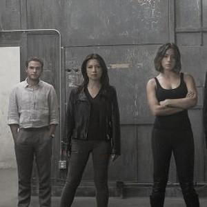 Elizabeth Henstridge, Iain De Caestecker, Ming-Na Wen, Chloe Bennet and Clark Gregg (from left)