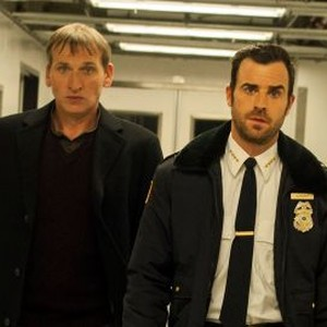 Christopher Eccleston (left) and Justin Theroux