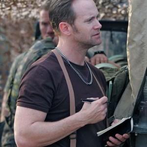 """Lee Tergesen as Evan """"Scribe"""" Wright"""