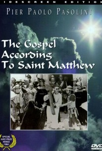 Il Vangelo Secondo Matteo (The Gospel According to St. Matthew)