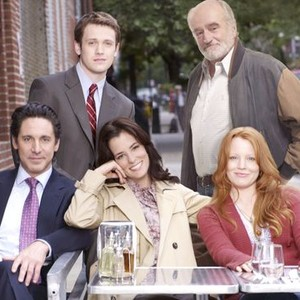 Michael Arden (left) and Ron McLarty (top row); Scott Cohen, Parker Posey and Lauren Ambrose (bottom row, from left)